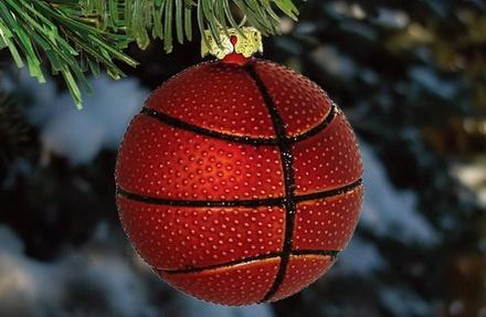 новый год баскет